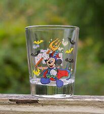 Walt Disney Mickey Mouse 2009 Tokyo Disneyland Halloween Bats Shot Glass