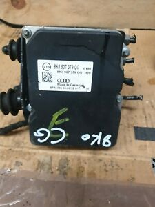 AUDI A4 A5 ABS PUMP CONTROL MODULE 8K0907379CG