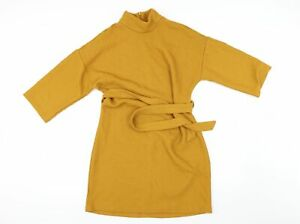 Primark Womens Yellow   A-Line  Size 12