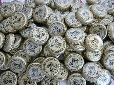100 LAGUNITAS GOLD BLACK EYED DOG BEER BOTTLE CAPS FOR CRAFTS NO DENTS FREE SHIP