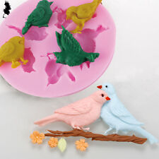 3D Flying Birds Design Silicone Cake Mold Chocolate Soap Baking Mold