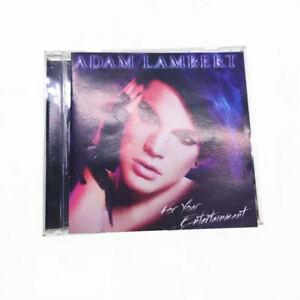 ADAM LAMBERT - FOR YOUR ENTERTAINMENT 886975480128 CD A14616