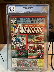 AVENGERS ANNUAL #10 CGC 9.6 First Rogue Appearance 1st App White Pages NM+ Key