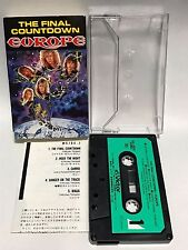Europe The Final Countdown Japan Cassette Tape VCL-10010 Joey Tempest John Norum