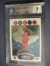 DERRICK ROSE 2008-09 Topps Chrome #181 BGS MINT 9 RC Bulls