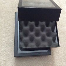"Box (of 2) SPECIAL 6 x 8 x 2"" Display Cases for MARBLES (with Convoluted Foam)"