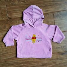 Branded Disney from Tesco Winnie The Pooh Pink Hooded Top - Excellent Condition