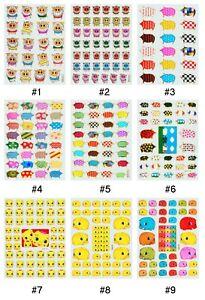 #SAA5 Shiny Pig Piglet Cartoon Animal Craft Card Kids Children Stickers