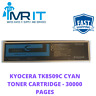 KYOCERA TK8509C CYAN TONER CARTRIDGE - 30000 PAGES