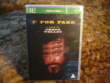 F FOR FAKE. ORSON WELLES. NEW/SEALED. 1974/2010.DVD