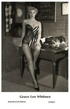 GRACE LEE WHITNEY actress PIN UP PHOTO postcard A706/1 - Film Star 2000 Mint