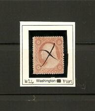 1857 WASHINGTON ISSUE / SCOTT #26 / UFHM