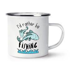 Prefiero ser la pesca Retro Esmalte Taza Taza-Divertido Deporte Peces