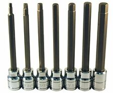 Rel Products, Inc. ATD-13786 Extra Long Sae Hex Bit Socket Set, 7 Pc.