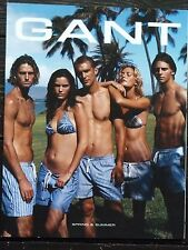 WILL CHALKER 2008 Gant Catalog Male Model Women Fashion Cathy Freeman Olympics