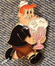 Tubby Brooch Pin ~ Little LuLu's Portly Friend ~ 80's vintage