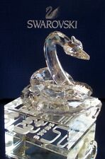 Swarovski Crystal Large Chinese Zodiac Snake Figurine Mint and New in Box