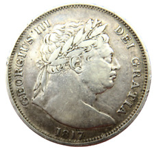 More details for 1817 king george iii silver halfcrown coin  - great britain