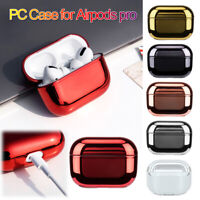 Cover Protector Wireless Charging Box Plating Hard PC Case For AirPods Pro 3
