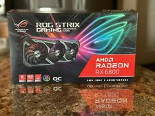 ASUS ROG Strix Gaming AMD Radeon RX 6800 OC Edition Graphics Card SHIPS NOW 🚚💨