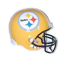 Pittsburgh Steelers 2007-Present Riddell Full Size Deluxe Football Helmet