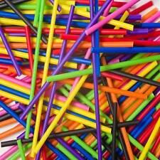 Coloured Plastic Lollipop Cake Pop Sticks Lollies Crafts Lolly Dowels