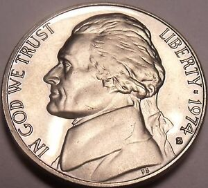 United States Proof 1974-S Jefferson Nickel~We Have Jeffersons