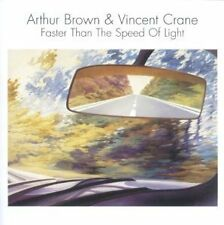 ARTHUR BROWN & VINCENT CRANE: Faster than the speed of light (1980); ESOTERIC Ne