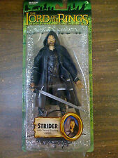 LOTR Lord Of The Rings Strider W/ Sword Action Figure Toybiz  NEW FREE SHIP US