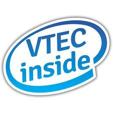 VTEC INSIDE sticker 112 x 86mm mr Oilcan exclusive sticker