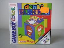 GAME BOY COLOR DENKI BLOCKS NUOVO