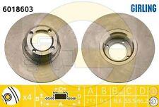 2x Discos de Freno AUSTIN Metro 1.0 1.3 ROVER 1000 1300 BRAKE DISCS 213MM