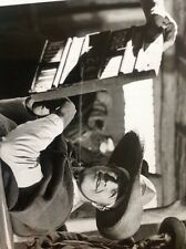 Original Photograph 8x10 Marlon Brando   Southwest To Sonora In Hat 1967 da7