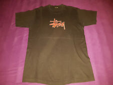 Original STÜSSY T-Shirt - Schwarz - Extrem selten - Sehr guter Zustand - Gr. L