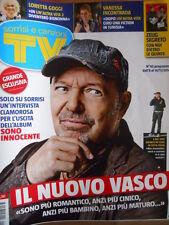 TV Sorrisi e Canzoni n°45 2014 Copertina speciale Vasco Rossi  [D46]