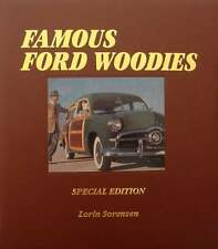 BOEK/LIVRE : FORD WOODIES - SPECIAL EDITION  (voiture bois,hout,oldtimer,USA