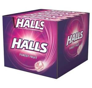 Halls Forest Fruit Flavour  20 x 33.5g Free Uk Delivery