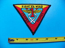 KOREAN WAR ORIGINAL 1ST MARINE FIGHTER WING THEATRE MADE JACKET PATCH