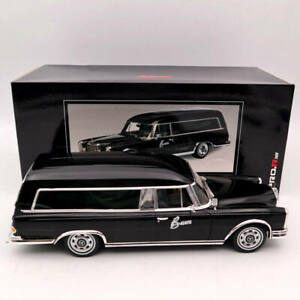 SCHUCO 1/18 Mercedes-Benz 600 HEARSE  FUNERAL Car 1965 CARRO FUNEBRE Black