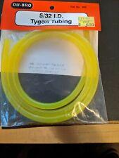 Du-Bro 554 Tygon Tubing 5/32 Id 3 foot piece