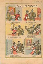Humour Tableau Tante Rose Appartement Parisien Corridor Salon Clou Paris 1934