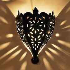 Grand Oriental Applique murale lampe marocaine en fer tobga H 45cm NEUF