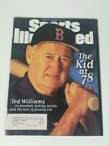 Ted Williams November 25th 1996 Issue sports illustrated magazine vintage