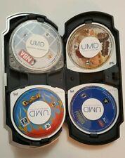 LOT of 5 PSP Games+ Case (GTA Chinawars, NBA 05, GripStuff , TEKKEN, PINBALL)