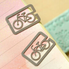 Stationery Bookmarks 100 Pieces Metal Bookmark Paper Clip For Book Office Decor