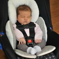 US Baby Newborn Car Seat Stroller Cushion Pad Liner Head Body Support Pillow Mat