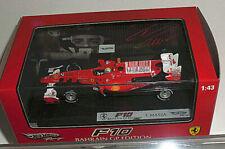 Hot Wheels Elite T6290 1/43 Ferrari F10 Bahrain GP Edition Red