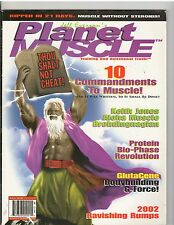 PLANET MUSCLE bodybuilding magazine/GLUTES/ MOSES Volume 5 #2