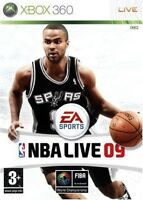NBA LIVE 09 for X-BOX 360