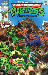 Teenage Mutant Ninja Turtles Adventures (2nd Series) #34 VF; Archie | we combine